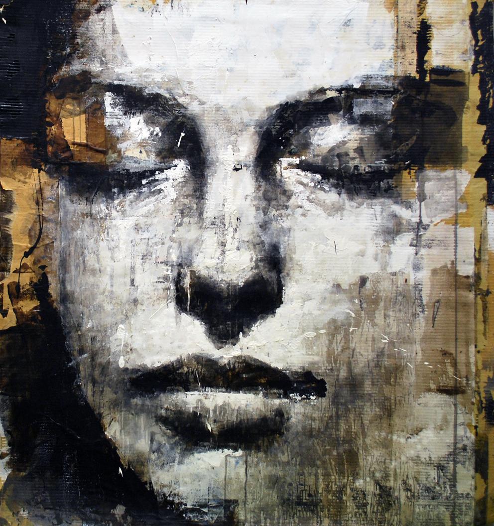 ritratto di  un viso di donna