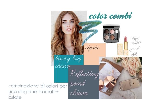 combinazioni di colori nell'armocromia