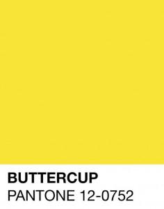 palette giallo pantone colori primavera estate 2016